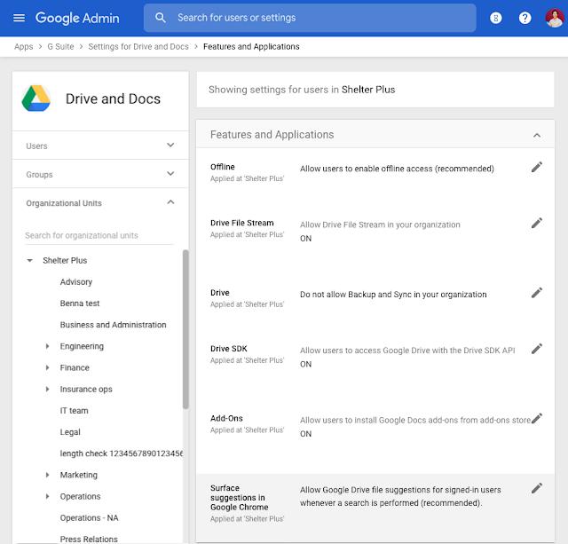 Podpowiedzi dotyczące plików na Dysku w Google Chrome